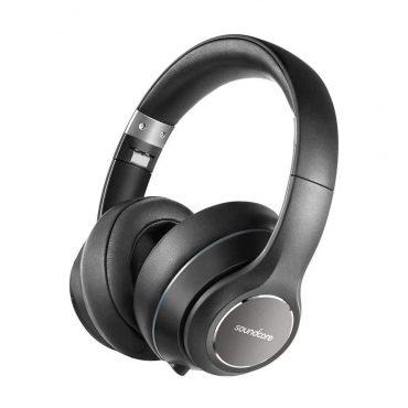 سماعات رأس ساوند كور اللاسلكية من أنكر - أسود