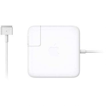محول طاقة أصلي 60 واط نوع Megasafe 2 (2 سن) من Apple