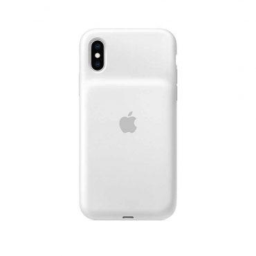 كفر بطارية أصلي Apple لآيفونXs  - أبيض
