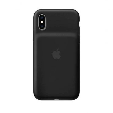 كفر أصلي مع بطارية شحن ذكية لآيفون Xs من Apple - أسود