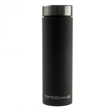 زجاجة ASOBU - Le Baton Travel Bottle Smoke - أسود