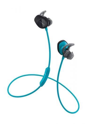 سماعة رأس لاسلكية رياضية من Bose - أزرق
