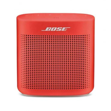 سماعة بلوتوث SoundLink من Bose - أحمر