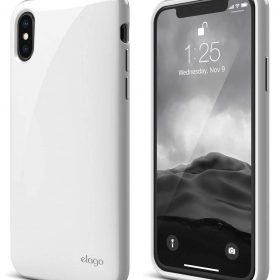 كفر حماية لآيفون X من Elago - أبيض