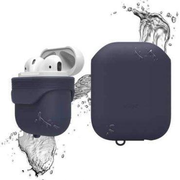 غطاء ضد الماء لسماعات آبل - كحلي