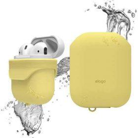 غطاء ضد الماء لسماعات آبل - أصفر