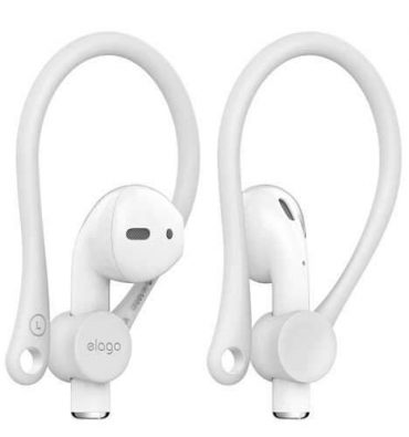 مشبك أذن لسماعات Apple من Elago - أبيض