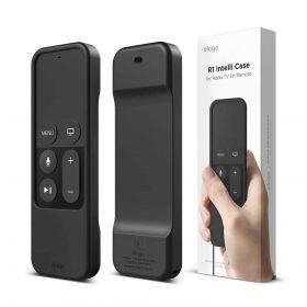 غطاء R1 Intelli لجهاز تحكم عن بعد لتلفاز آبل - أسود