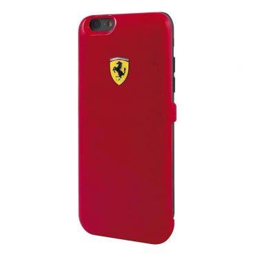 حافظة طاقة أصلية Formula 1 MFi  سعة 3000 ملي أمبير لآيفون 6 من Ferrari - أحمر