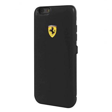 حافظة طاقة أصلية Formula 1 MFi  سعة 3000 ملي أمبير لآيفون 6 من Ferrari - أسود