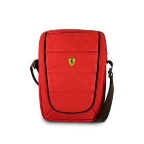 حقيبة تابلت مع حزام كتف من فيراري 8 إنش - أحمر