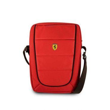 حقيبة تابلت مع حزام كتف من فيراري 10 إنش - أحمر