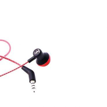 سماعة أذن مونو 3.5 ملم من فيراري - أحمر