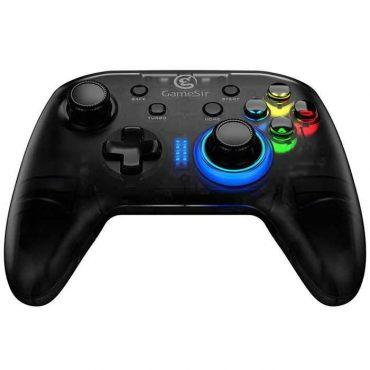 ذراع تحكم الألعاب جيم سير T4 لأجهزة الكمبيوتر- اللون أسود