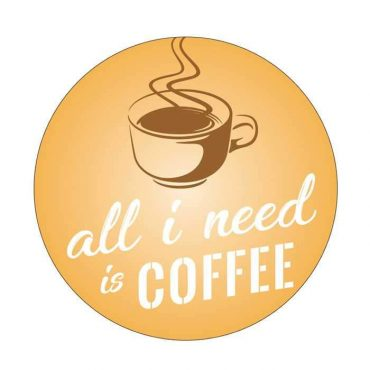 ممسكة هاتف محمول من Gripon - كل ما أريده هو القهوة