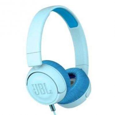 سماعات رأس للأطفال jr300 من jbl - أزرق