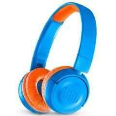 سماعات رأس لاسلكية للأطفال JR300BT من jbl - أزرق/ أرانشيو