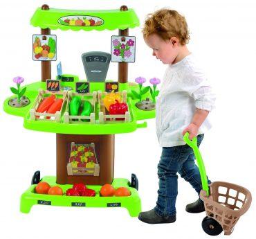 لعبة كشك السوق 100% CHEF - Organic market stall