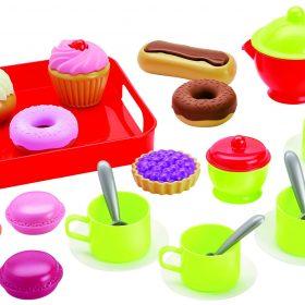 لعبة طقم الشاي والحلويات 100% CHEF - Tea and Pastries set