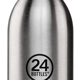زجاجة مياه 330 مللي 24Bottles CLIMA Bottle - فولاذي