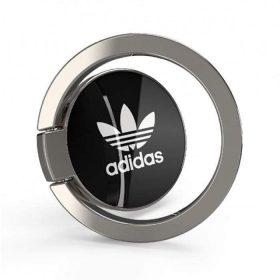 خاتم للموبايل Adidas - Originals Universal Phone Ring Grip Stand for Smartphones - أسود  أبيض