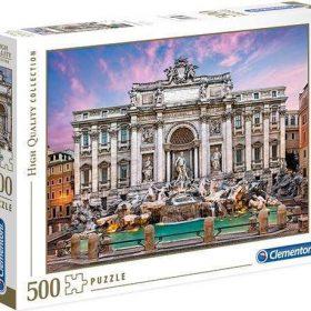لعبة تطبيقات 500 قطعة CLEMENTONI - Fontana Di Trevi