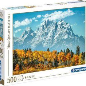لعبة تطبيقات 500 قطعة CLEMENTONI - Grand Teton In Fall