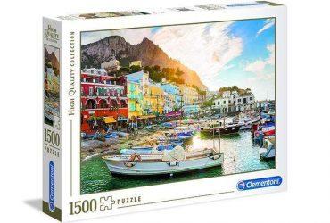 لعبة تطبيقات 1500 قطعة CLEMENTONI - The Capri