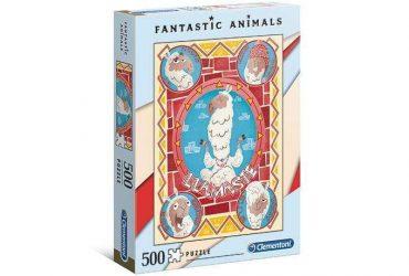 لعبة تطبيقات 500 قطعة CLEMENTONI - Fantastic Animals