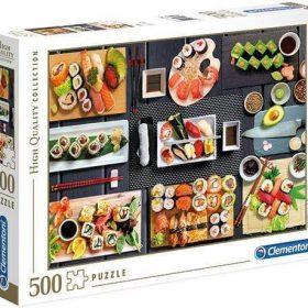 لعبة تطبيقات 500 قطعة CLEMENTONI - The Sushi