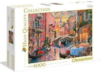 لعبة تطبيقات 6000 قطعة CLEMENTONI - Venice Sunset