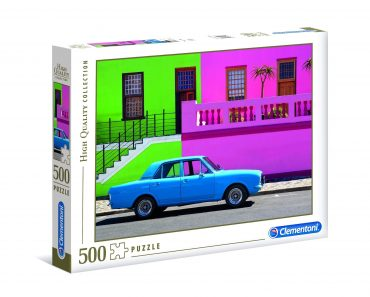 لعبة تطبيقات 500  قطعة CLEMENTONI – The Blue Car