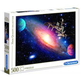 لعبة تطبيقات 500 قطعة CLEMENTONI - Space Station
