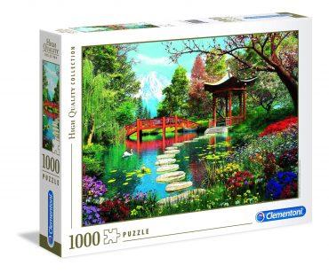 لعبة تطبيقات 1000 قطعة CLEMENTONI - Fuji Garden