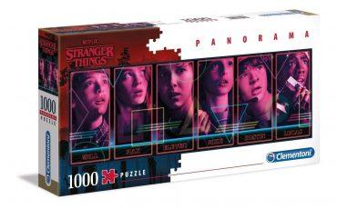لعبة تطبيقات 1000  قطعة CLEMENTONI - Panorama Stranger Things
