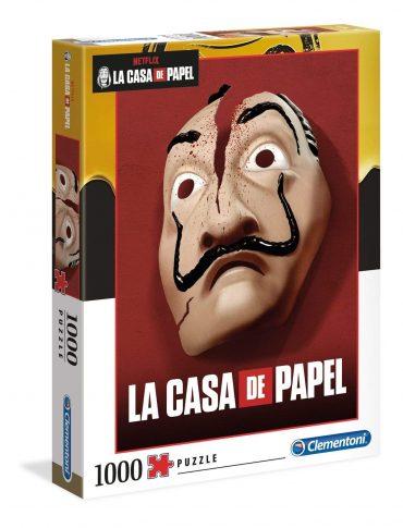 لعبة تطبيقات 1000  قطعة CLEMENTONI - La Casa De Papel Mask