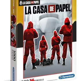 لعبة تطبيقات 1000  قطعة CLEMENTONI - La Casa De Papel