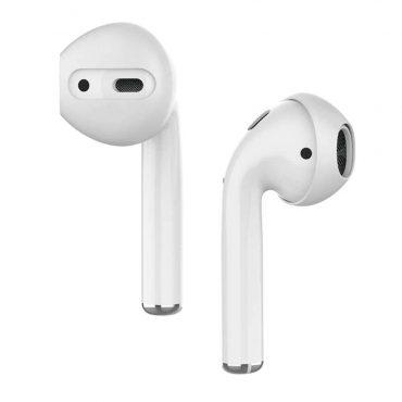 كفر خطافات أذن مميز لسماعات Airpods(3 أزواج) - أبيض