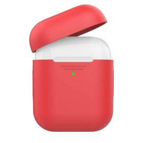 غطاء سيليكون لسماعات  Airpods - أحمر