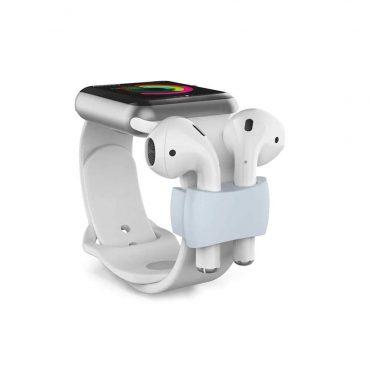 حامل حزام ساعة أصلي لسماعات  Airpods - أزرق سماوي