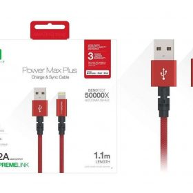كابل AMAZINGTHING - AT POWER MAX+ LIGHTNING TO USB-A CABLE 1.1M - أحمر