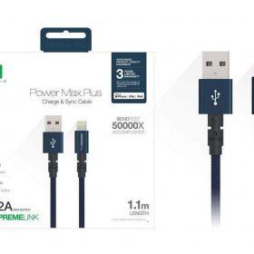كابل AMAZINGTHING - AT POWER MAX+ LIGHTNING TO USB-A CABLE 1.1M - أزرق