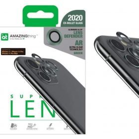كفر AMAZINGTHING - AT SUPREME LENS DEFENDER IPHONE 11 3D CORNING LENS - أخضر