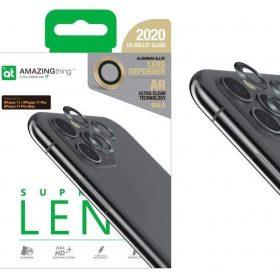 كفر AMAZINGTHING - AT SUPREME LENS DEFENDER IPHONE 11 3D CORNING LENS - ذهبي