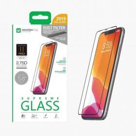 "شاشة حماية AMAZINGTHING - AT IPHONE XI 5.8"" 0.3M 2.75D EX-BUL DUST F GLASS"