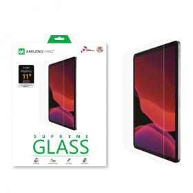 "شاشة حماية AMAZINGTHING - AT IPAD FACE ID 11"" 2020 2.5D SUPREME GLASS (CRYSTAL)"