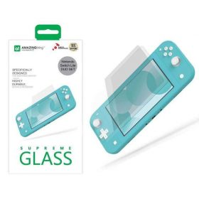 شاشة حماية AMAZINGTHING - AT NINTENDO SWITCH LITE 0.3MM SUPREME GLASS 2 X GLASS (CRYSTAL)