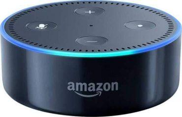 مكبر صوت ذكي Echo Dot  من Amazon  (الجيل الثاني) -  أسود
