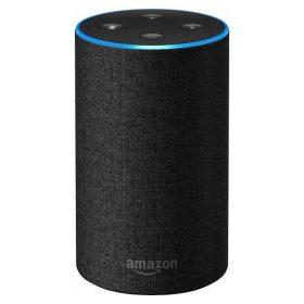 مكبر صوت ذكي Echo  من  Amazon  (الجيل الثاني) -  رمادي فحمي