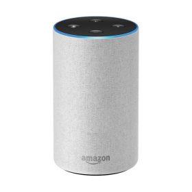 مكبر صوت ذكي Echo من  Amazon  (الجيل الثاني) -  قماش رملي
